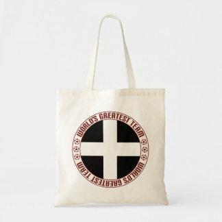 Cornwall Greatest Team Budget Tote Bag