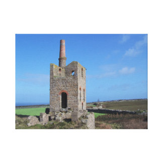 Cornwall Mine Engine House Canvas Print