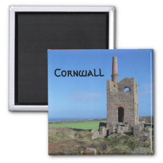 Cornwall Mine Engine House Magnet
