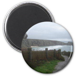 Cornwall view magnet
