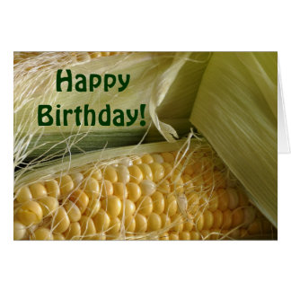 Corny Birthday Card