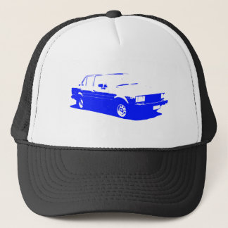 Corolla1983 blue trucker hat