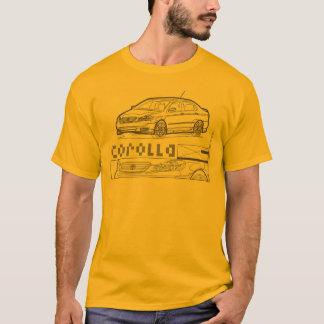 Corolla Black T-Shirt