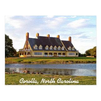 Corolla, North Carolina OBX Postcard
