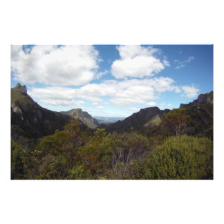Coromandel New Zealand Pinnacles GoPro wide Photo Print