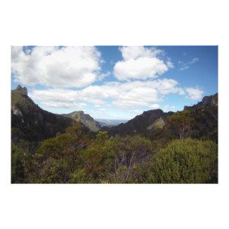 Coromandel New Zealand Pinnacles GoPro wide Photographic Print