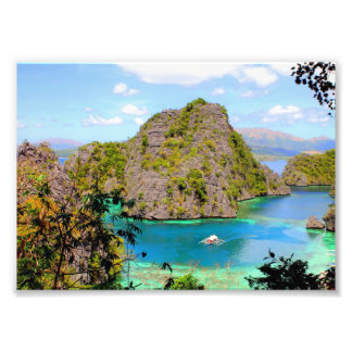 Coron in Palawan Photo Print