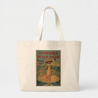 Corona Road Race Advertisement Jumbo Tote Bag
