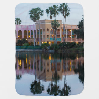 Coronada Springs Reflections Baby Blanket