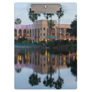 Coronada Springs Reflections Clipboard