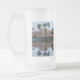 Coronada Springs Reflections Frosted Glass Beer Mug