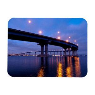 Coronado Bridge at Dusk Magnet