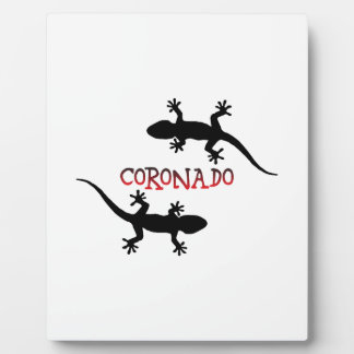 Coronado California Display Plaque