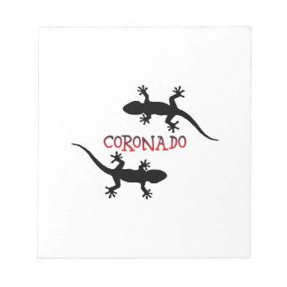 Coronado California Notepad