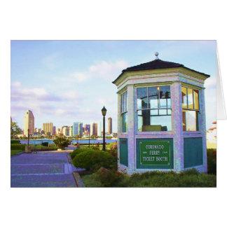 Coronado Ferry Toll Booth Card