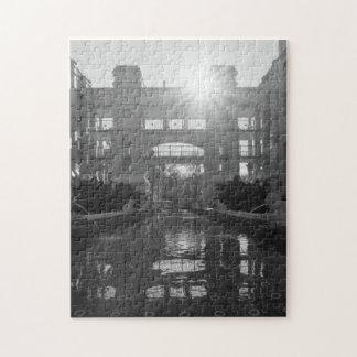 Coronado Sunburst Grayscale Jigsaw Puzzle