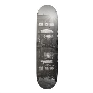 Coronado Sunburst Grayscale Skateboard Decks