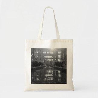Coronado Sunburst Grayscale Tote Bag