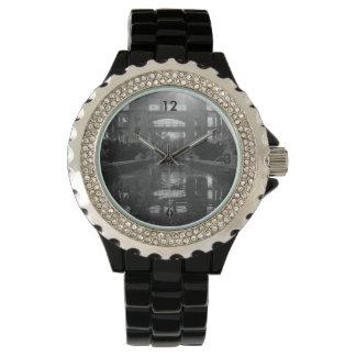 Coronado Sunburst Grayscale Watch