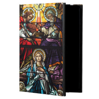 Coronation of Blessed Virgin Mary Stained Glass Cover For iPad Air