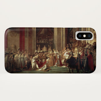 Coronation of Napoleon by Jacques-Louis David iPhone X Case