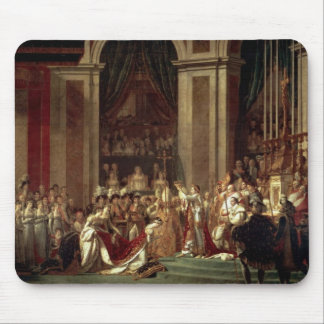 Coronation of Napoleon by Jacques-Louis David Mouse Pad