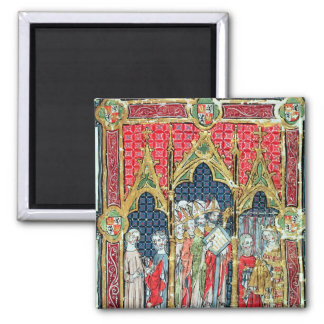 Coronation of the Kings of Aragon and Castille Magnet