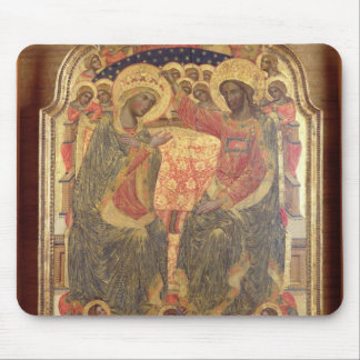 Coronation of the Virgin, 1372 Mouse Pad