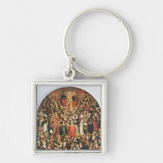 Coronation of the Virgin 1513 oil on panel Keychains