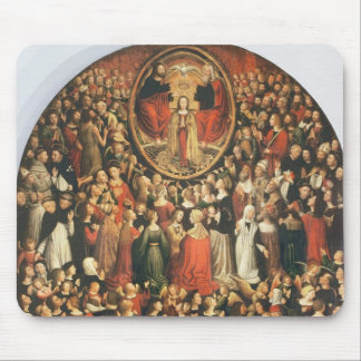 Coronation of the Virgin, 1513 (oil on panel) Mouse Pad