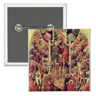 Coronation of the Virgin 15 Cm Square Badge