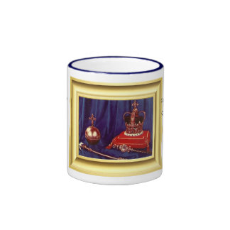Coronation Regalia of Queen Elizabeth II Coffee Mugs
