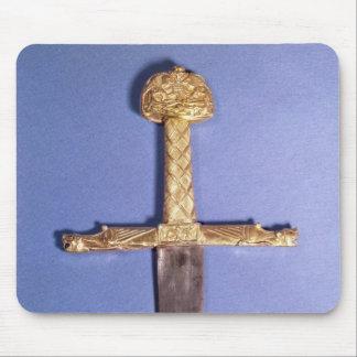 Coronation sword of the Kings of France Mousepad