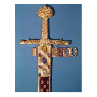 Coronation sword of the Kings of France Postcard