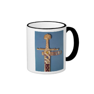 Coronation sword of the Kings of France Ringer Mug