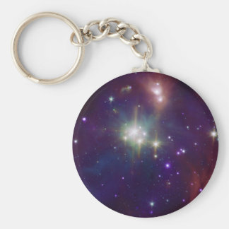 Coronet infrared star cluster NASA Key Ring