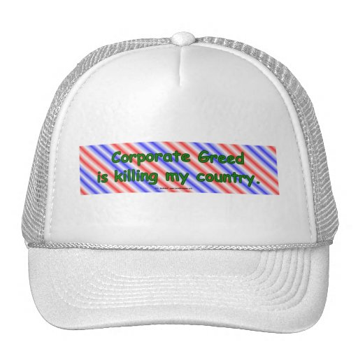 CorpGreed Mesh Hat