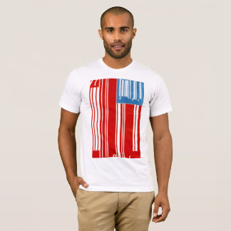 Corporate America Flag Graphic T- Amin Swessi T-Shirt
