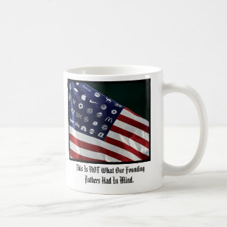 Corporate American Flag Standard Mug