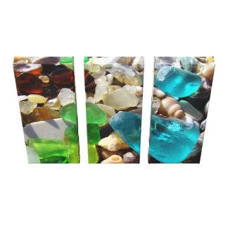 Corporate Art Canvas prints Coastal Beach Seaglass