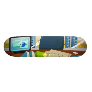 Corporate Bankers Office Skateboards