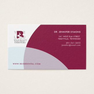 Corporate Business Card : Maroon