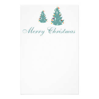 Corporate Business Holiday Woodland Christmas Stationery