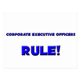 Corporate Executive Officers Rule! Postcards