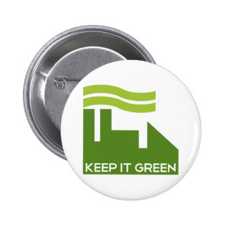 Corporate Green Recycle Buttons