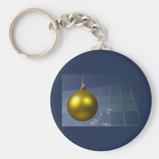 corporate holiday greetings key chains