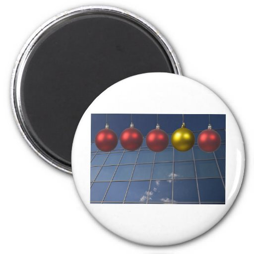 corporate holiday greetings refrigerator magnet