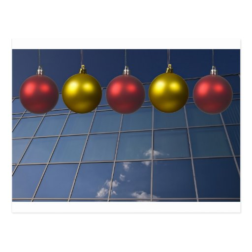 corporate holiday greetings post cards