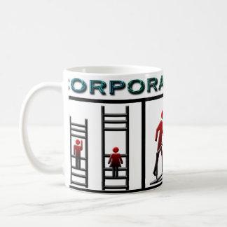 Corporate Ladder Basic White Mug