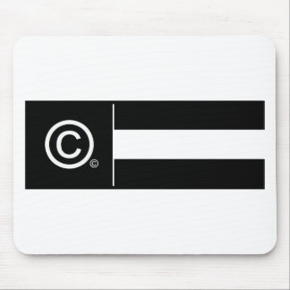 Corporate Logo Flag Mouse Pad
